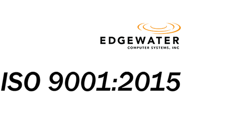 Edgewater Computer Systems ISO 9001:2015